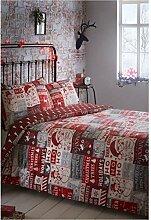 Portfolio Weihnachten Scrapbook Quilt Bettbezug