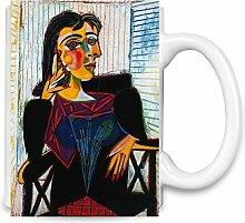 Portrait of Dora Maar Picasso Painting Kaffee