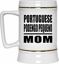 Portuguese Podengo Pequeno Mom - Beer Stein