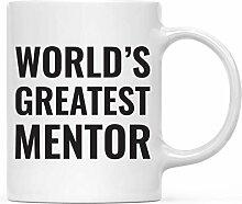Porzellan-Becher Weltweit größter Mentor-Becher