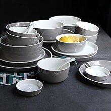 Porzellan Geschirrset, 28 Stück