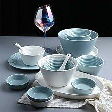 Porzellan Geschirrset, 56 Stück Serie im