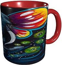 Porzellan-Kaffee- / Teetasse Eine robuste und