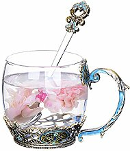 Porzellan Kaffee Teetassen, Emaille Farbe Becher