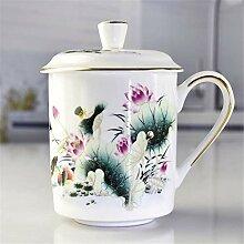 Porzellan-Kaffee-Teetassen Geschirr Kaffee