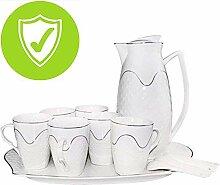 Porzellan Keramik Kaffeeset Teeset Teeservice Für