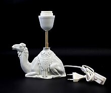 Porzellan Lampenfuß Kamel