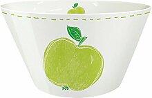 Porzellan Müslischale Schale Bowl Apfel Fashion