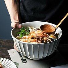 Porzellan Schüsseln Salat/Ramen Große Schüssel