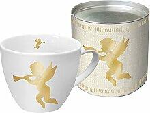 Porzellan Tasse Big Mug Angel Fashion (Gold)