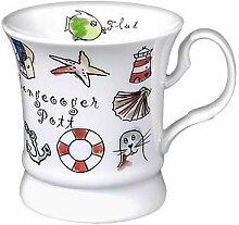 Porzellan- Tasse, Kaffeehaferl, Becher -