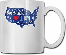Porzellan Tasse Land die kostenlose