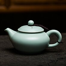 Porzellan-Teekanne Keramik Teekanne Dehua Jade