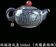 Porzellan-Teekanne Keramik Teekanne japanischer