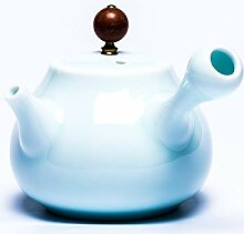 Porzellan-Teekanne Keramik Teekanne weiß