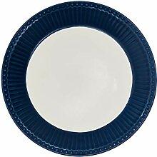 Porzellan-Teller, Alice Dark Blue von GREENGATE