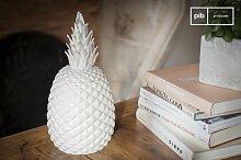 Porzellan Topf Ananas