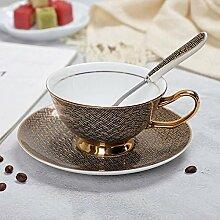 Porzellan Untertassensets Kaffeetassen Bone China