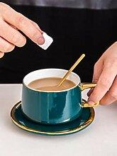 Porzellan Untertassensets Kaffeetassen Farbe
