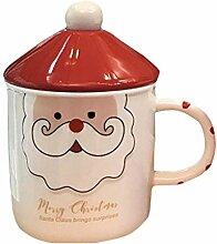 Porzellanbecher, Weihnachtsbecher Cartoon Becher