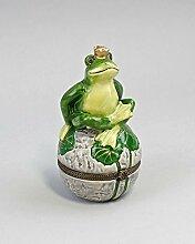 Porzellandose Froschkönig