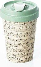 Porzellantassen Kaffeetasse Coffe to go Becher