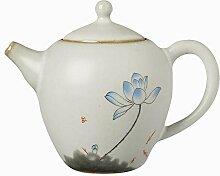 Porzellanteekanne im japanischen Stil Keramik