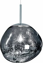 Post-Modern Melt Glass Kronleuchter Lava