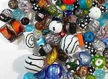 POSTEN PERLEN Glas GLASPERLEN Beads 500g Fancy
