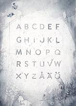 Poster ABC, 50×70 cm, Mrs.Mighetto