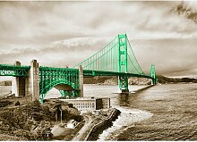 "Poster ""Around the World San Francisco"