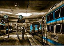 Poster Around the World Züge in Paris, Fotodruck