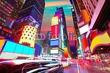Poster-Bild 140 x 90 cm:Times Square Manhattan New