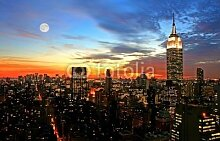 Poster-Bild 90 x 60 cm:New York City midtown