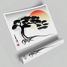 Poster Bonsai Baum East Urban Home