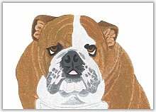 Poster Bulldogge East Urban Home Format: Ohne