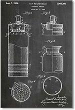 Poster Cocktail Shaker, Grafikdruck von House of