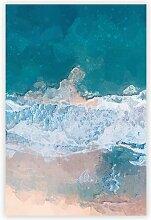 Poster Der Strand von Dee Why in Australien Big