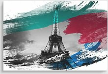 Poster Eiffelturm Paris 17 Stories