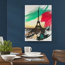 Poster Eiffelturm Paris East Urban Home