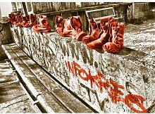 """Poster """"Landscapes Shoes"""", Grafikdruck East"""