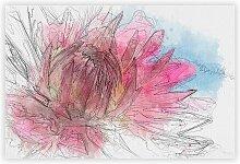 Poster Pink Flower Big Box Art