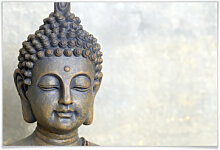 Poster - Poster Buddha Gesicht