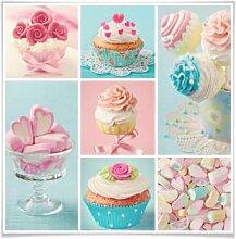 Poster - Poster Cupcake-Collage