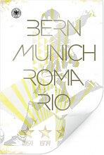Poster - Poster DFB - Weltmeister Deutschland