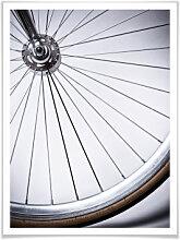 Poster - Poster Fahrradspeichen