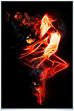 Poster - Poster Flammentänzer