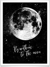 Poster - Poster - Fly with me to the moon