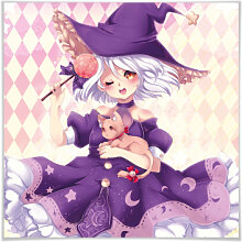 Poster - Poster La Doll Blanche - Little Witch