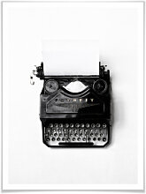 Poster - Poster Typewriter